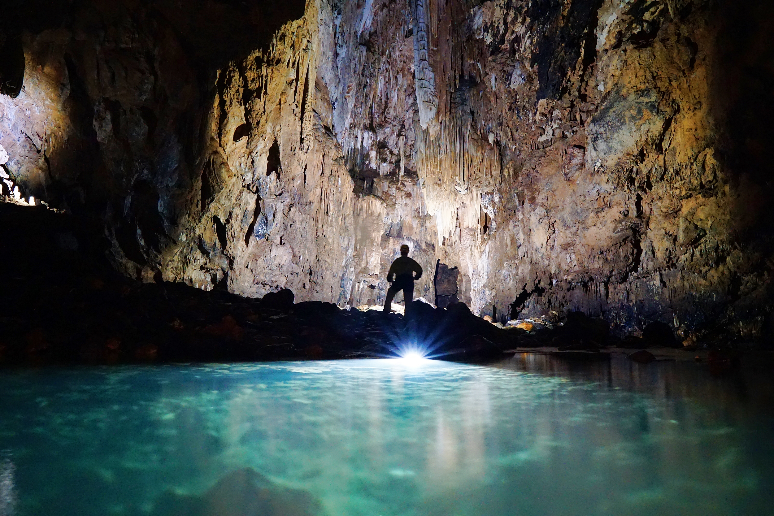Caving in Brazil with meandre Explo 1-a