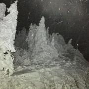 Nuit de tempête sur le jura