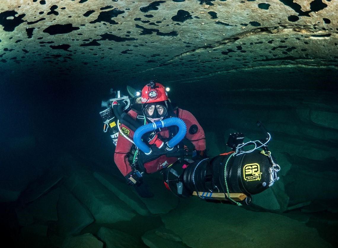meandre technologie plongée souterraine