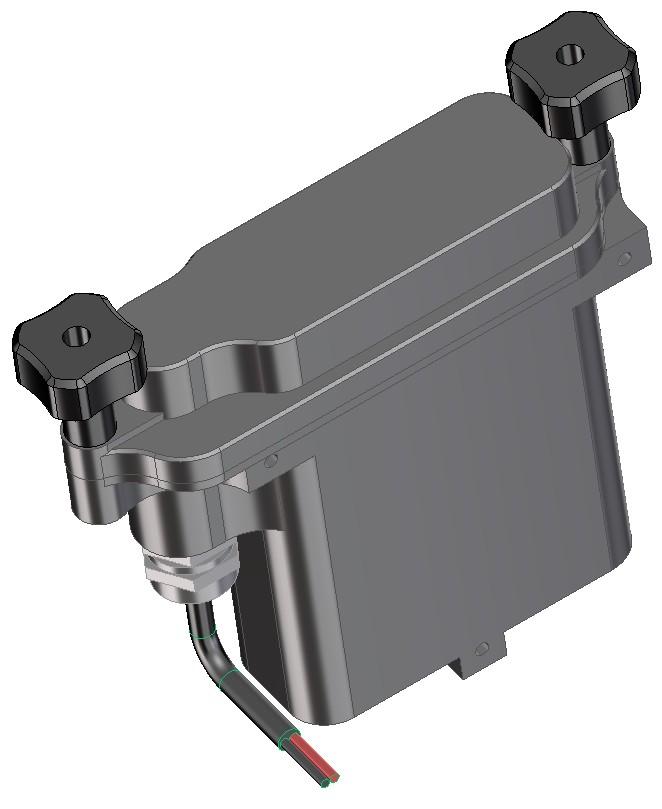 Boitier batterie 2 6ah sortie fil