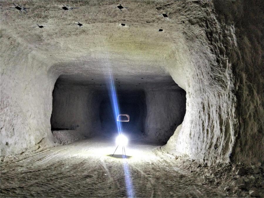 Meandre techno rtc360 carriere souterraine