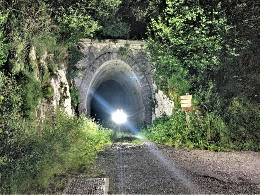Meandre technologie et rtc360 entree tunnel